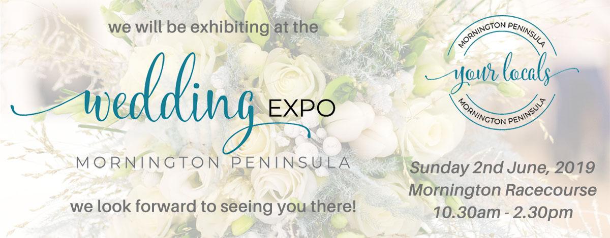 Mornington Peninsula Weddings 2019 expo banner