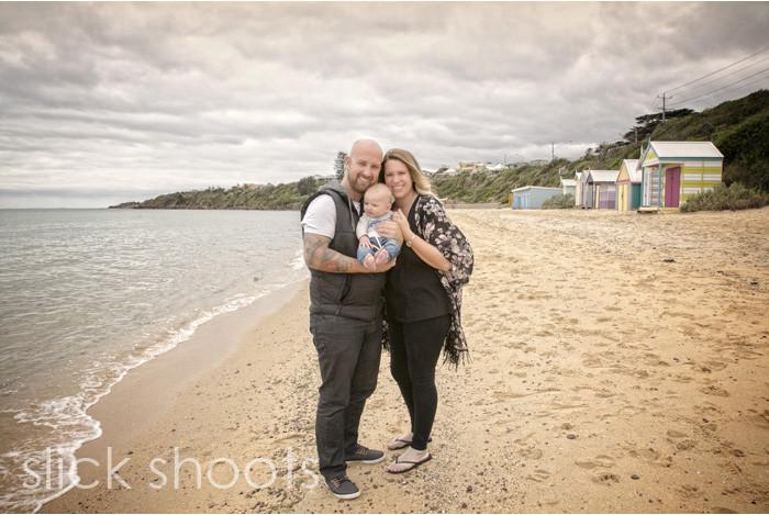 Family photo shoot Mornington Peninsula Beach