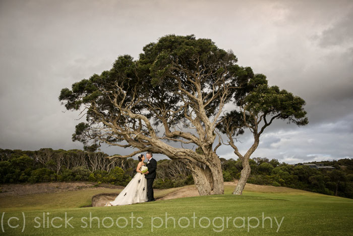 richard and zoe wedding national golf course mornington peninsula