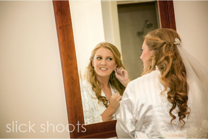 Holly and Steffan wedding getting ready Brooklands of Mornington