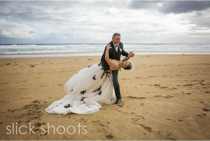 Zoe and Richard wedding National Golf Course Mornington Peninsula