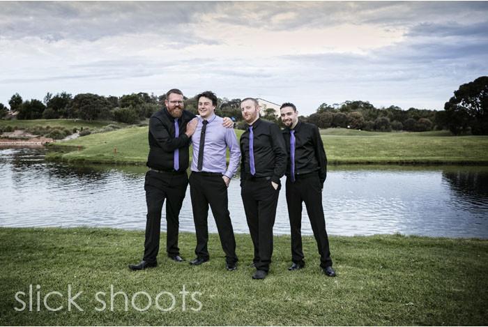 Brooke and Paul wedding Eagle Ridge Golf Course Mornington Peninsula