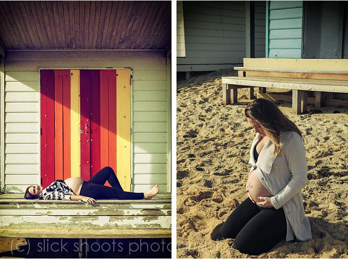 Kelly and Brendan Maternity baby bump shoot