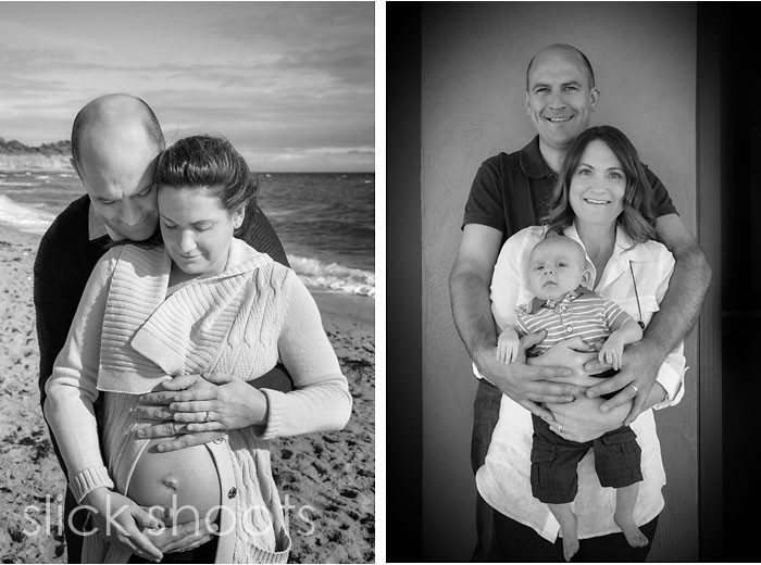 Baby and family shoot