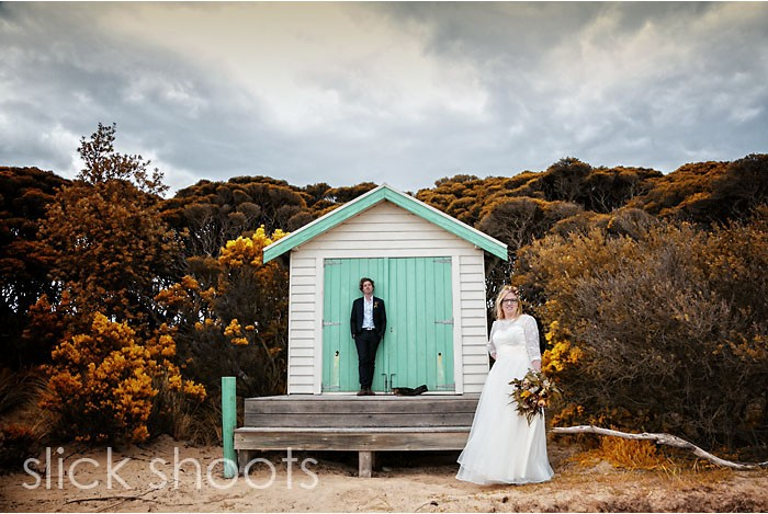 Joanne and Andrew wedding Rye beach Mornington Peninsula
