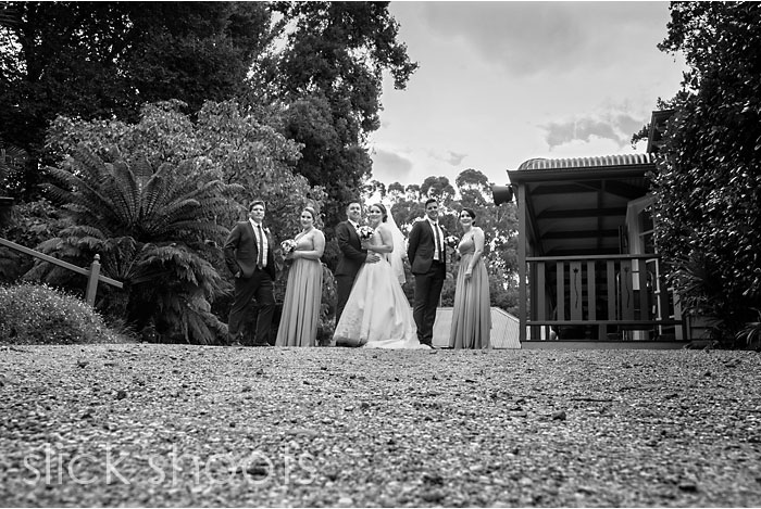 Hayley and Michael's wedding at Nathania Springs in The Dandenongs
