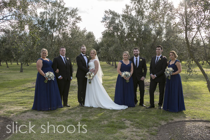 Emma and Gage's wedding at Summerfields on the Mornington Penins