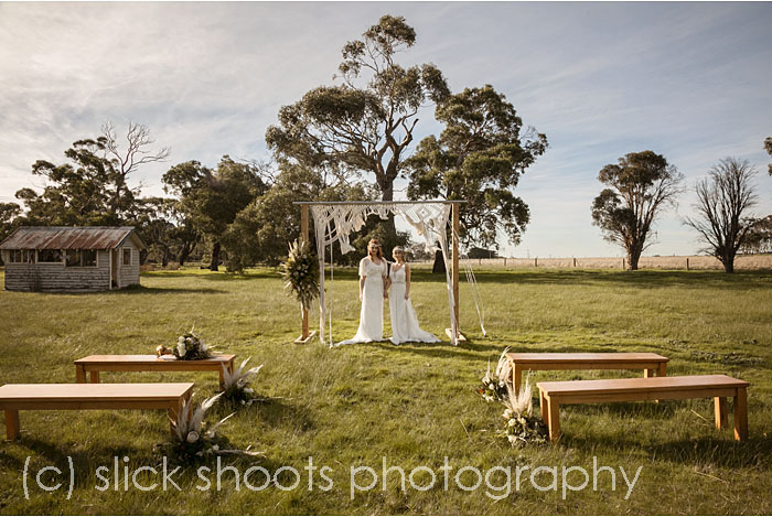 Hickinbotham of Dromana wedding venue styled shoot with Event and Flavour