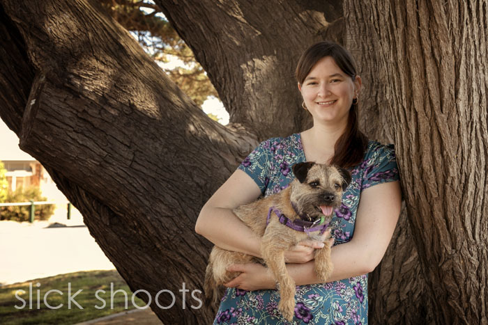 Katherine and Andrew's pre wedding portrait shoot in Mornington