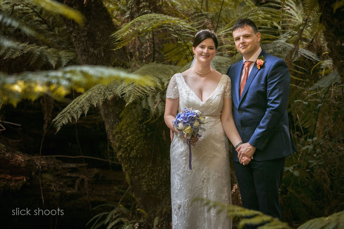 Katherine and Andrew wedding Lyrebird Falls The Dandenongs