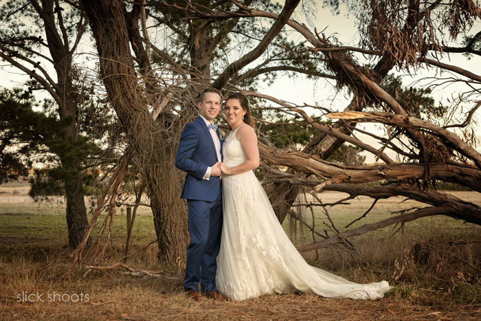Alicia and Adam wedding Baxter Barn Mornington Peninsula