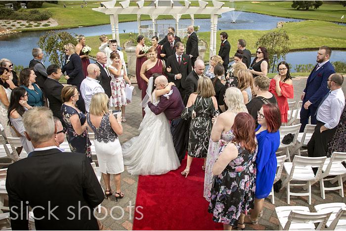 Kristen and Sean wedding at Eagle Ridge on the Mornington Penins