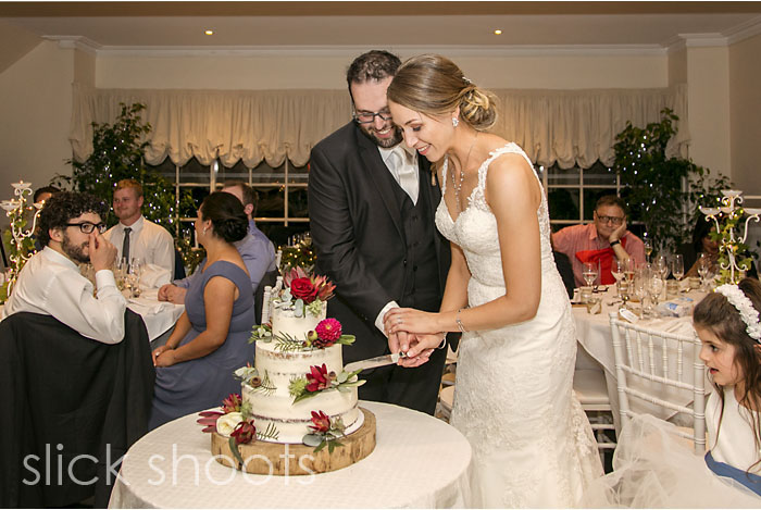 Sarah and Adrian's wedding at Summerfields Estate on the Morning