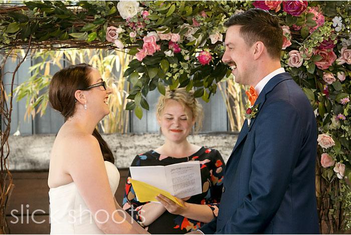 Rachel and Simon's wedding in Melbourne Treasury Gardens Mr Maso